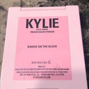 Kylie Cosmetics Makeup - Kylie Cosmetics Baddie on the Block blush.